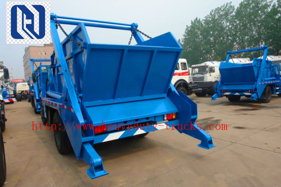 Chiny SINOTRUK 30T Hork Arm Garbage Truck Collection Trash Compactor Truck Euro2 336hp 10 opon dystrybutor